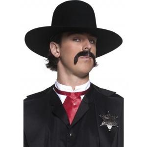 Bredbrättad sheriffhatt