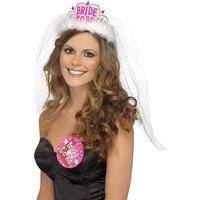 Möhippa tiara Bride To Be - vit