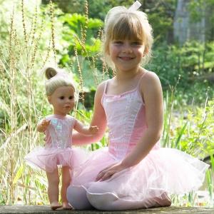 Ballerinaklänning för dockor