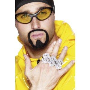 Rapparen, 3 i 1 dollar ring