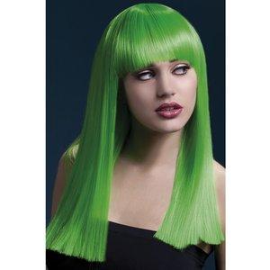 Alexia peruk - neongrön