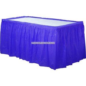 Mörkblå bordsduk - 73cm x 426cm
