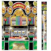 Dekorbakgrund - Casino spelmaskin