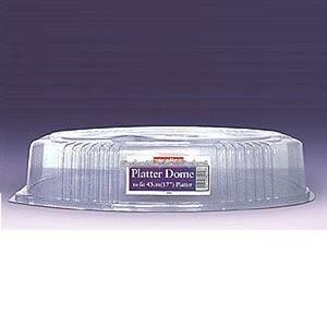 Transparent lock i plast för uppläggningsfat - 43 cm