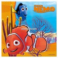 Hitta Nemo - pappersservetter 2-lagers 33 cm - 20 st