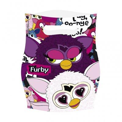 Furby Partypåsar i plast - 6 st