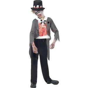 Zombie brudgrum maskeraddräkt