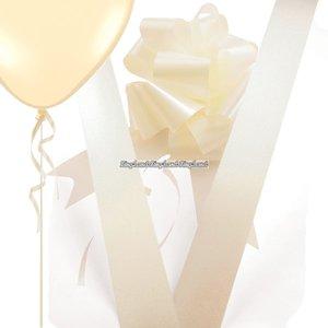Dekorationspaket elfenbensvit - 4 st