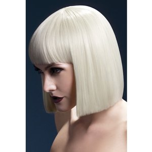 Lola peruk, kort rak lugg - blond