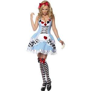 Miss Wonderland maskeraddräkt