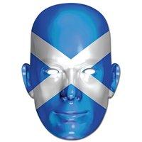 Ansiktsmask skotska flaggan