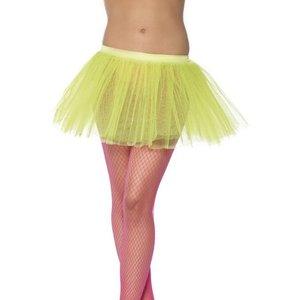 Balettkjol underkjol neongul