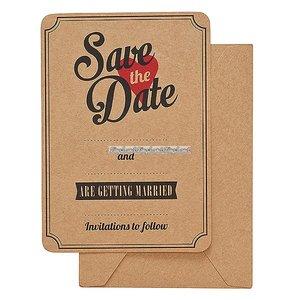 Save the date kort - 10 st