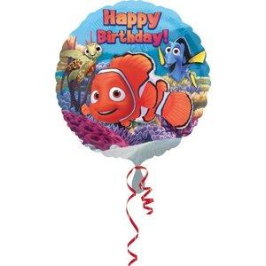 Folieballong - Nemo Happy Birthday 45cm