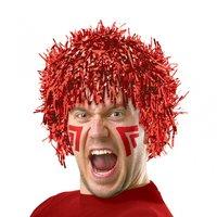 Röd folieperuk