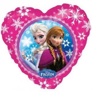 Folieballong - Frost Anna &amp  Elsa Love 45 cm