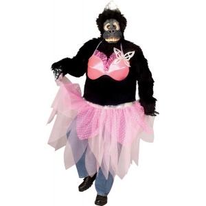 Prima ballerina gorilla maskeraddräkt