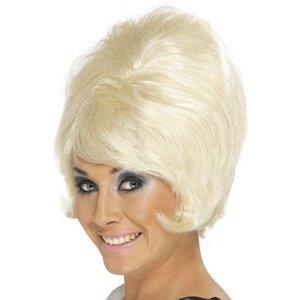 Peruk Beehive blond