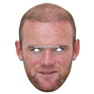 Ansiktsmask Wayne Rooney