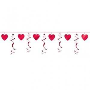 Virvelgirlang och hjärta - 2,74 m