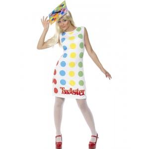 Twisterspel maskeraddräkt kvinna