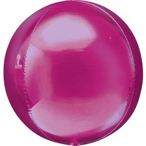 Folieballong - Orbz Rosa