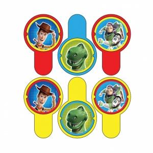 Toy story 3 frisbeekastare - 6 st