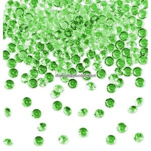 Gröna diamantkonfetti - 28g