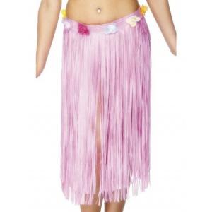 Hawaii-kjol rosa