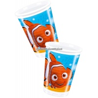 Hitta Nemo plastmuggar 200 ml - 8 st