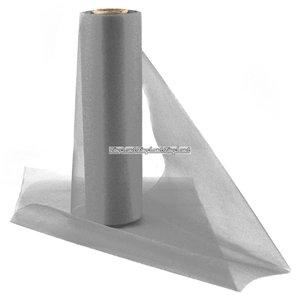 Organza rulle silver - 25m