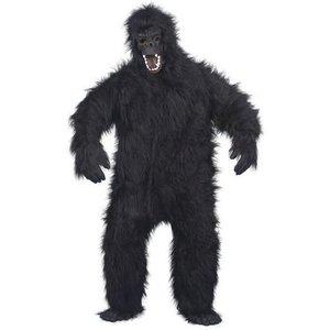Gorilla - maskeraddräkt extra fluffig