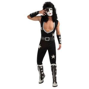 Kiss - the Starchild deluxe maskeraddräkt
