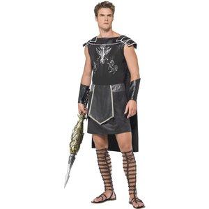 Gladiator maskeraddräkt - svart