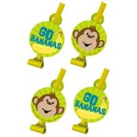 Monkeying around partytutor - 8 st