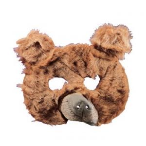 Björnmask i plysch