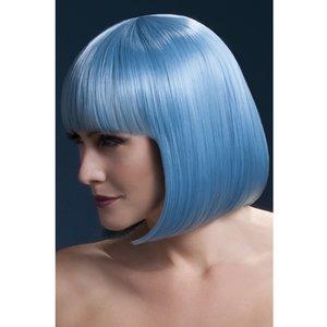 Elise peruk blå