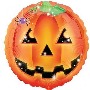 Folieballong - Playful Pumpkin 45 cm