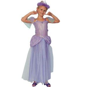 Lila Prinsessa maskeraddräkt
