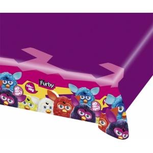 Furby bordsduk i plast till festen