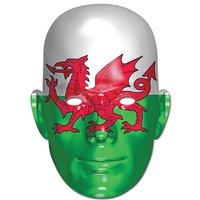 Ansiktsmask walesiska flaggan