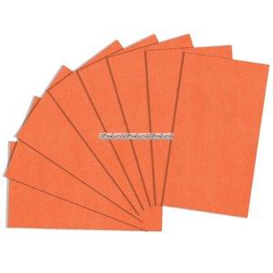 Presentpapper orange - 8 ark