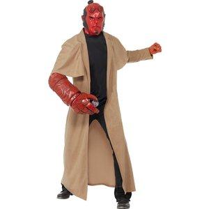Hellboy maskeraddräkt - Medium