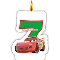 Disney bilar neon - ljus till 7-årsdagen