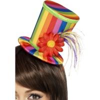 Mini höghatt regnbågsfärger