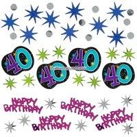 Bordskonfetti till 40-årsdagen - The party continues 34 g