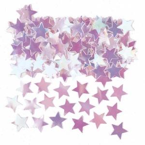 Bordskonfetti skimrande stjärnor - 14 g