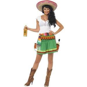 Tequila shooter tjej maskeraddräkt