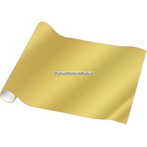 Guldfärgat foliepapper - 1,5 m