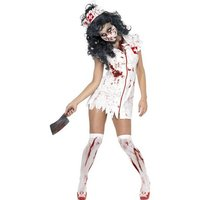 Zombie sjuksk�terska maskeraddr�kt